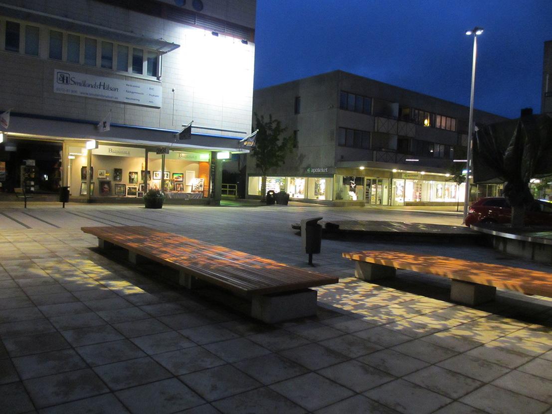 Bänkljus 1 Ljungby