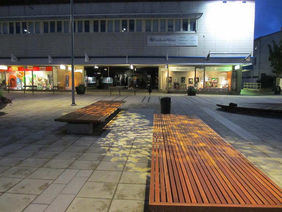 Bänkljus 2 Ljungby