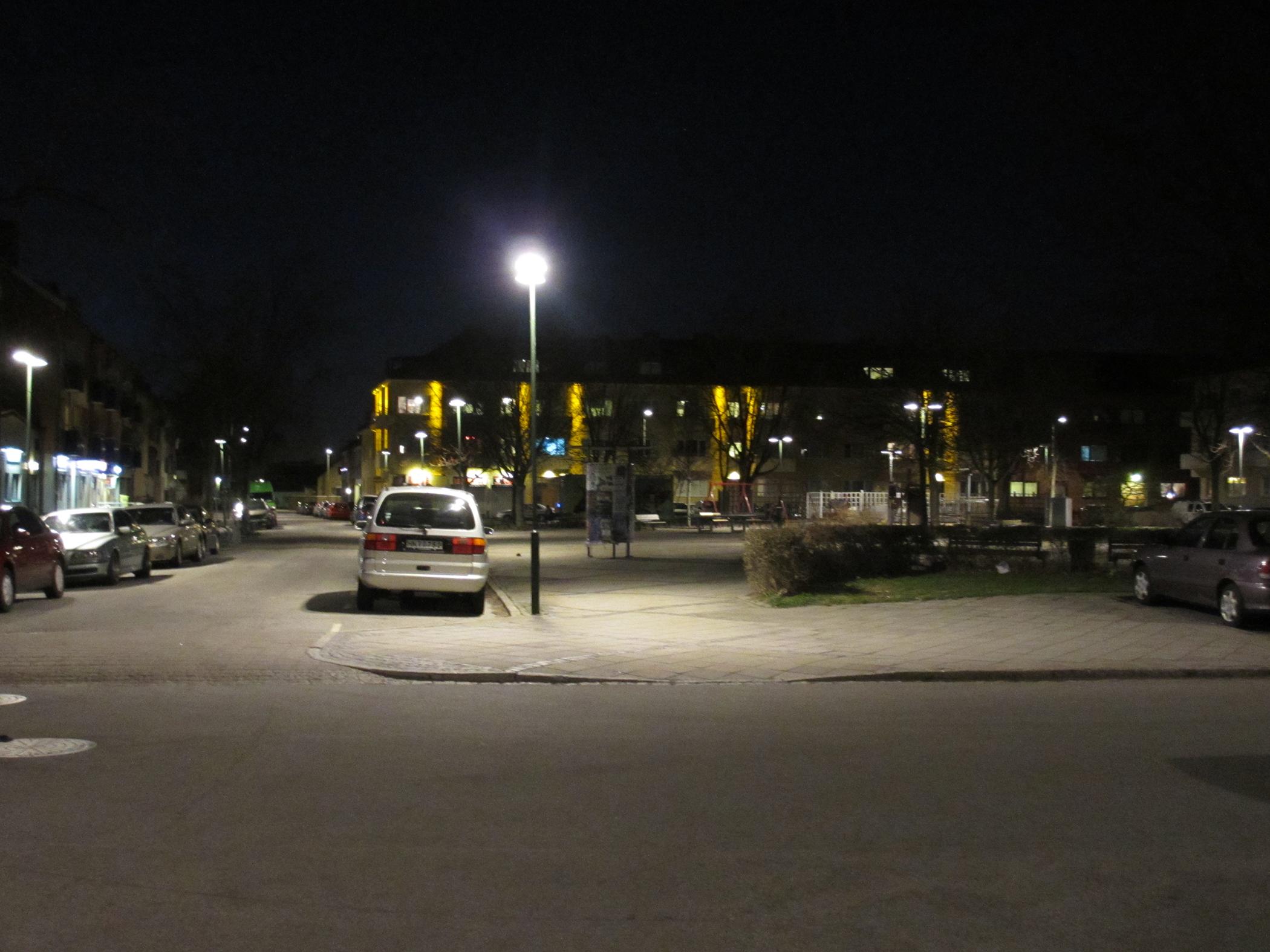 Fasadbelysning Intagan Seved Malmö 4